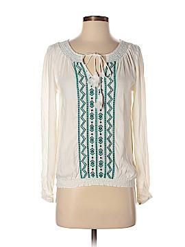 American Rag Cie Long Sleeve Blouse Size XS