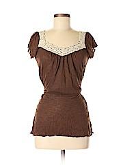 Self Esteem Women Short Sleeve Blouse Size M