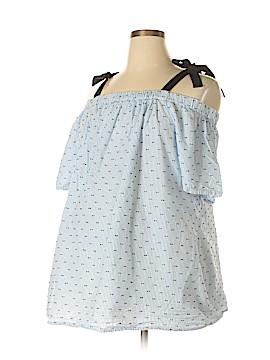 Motherhood Short Sleeve Blouse Size 2X (Maternity)