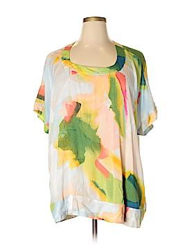 Melissa McCarthy Seven7 Short Sleeve Blouse Size 1X (Plus)