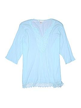 Krazy Kat 3/4 Sleeve Blouse Size XXL
