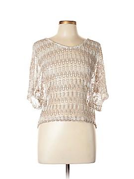 Vanity Short Sleeve Blouse Size L