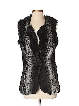 Dolce Cabo Faux Fur Vest Size S