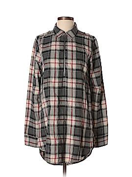 Raquel Allegra Long Sleeve Blouse Size Sm (1)