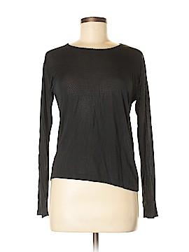 L.L.Bean Long Sleeve Silk Top Size M