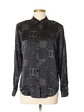 Liz Claiborne Long Sleeve Silk Top Size 6
