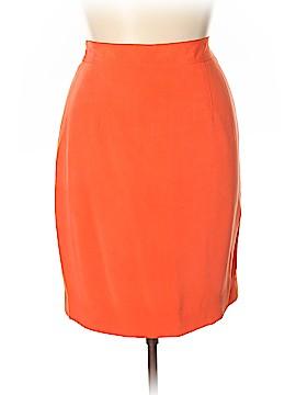 Dana Buchman Silk Skirt Size 14