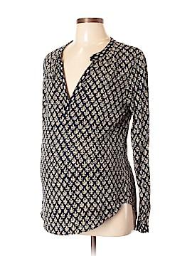 Velvet by Graham & Spencer Long Sleeve Blouse Size L (Maternity)