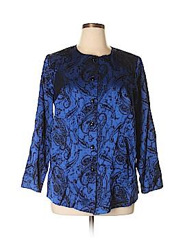 Fashion Bug Long Sleeve Blouse Size 14