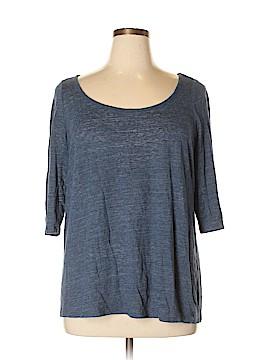 Cynthia Rowley for Marshalls 3/4 Sleeve T-Shirt Size 1X (Plus)