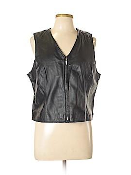 Croft & Barrow Faux Leather Jacket Size L