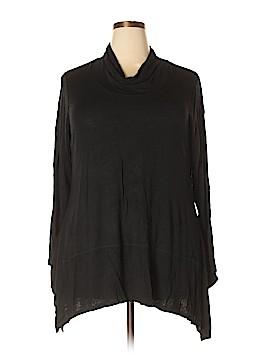 Bobeau Long Sleeve Top Size 2X (Plus)