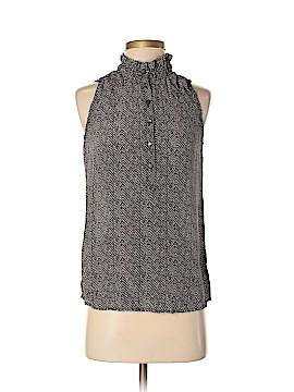 J. Crew Short Sleeve Silk Top Size 0