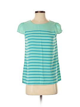 Ann Taylor LOFT Short Sleeve Blouse Size XS