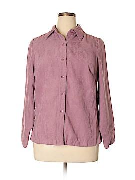 Studio 1940 Long Sleeve Button-Down Shirt Size 14