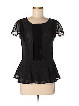 Jun & Ivy Short Sleeve Blouse Size M