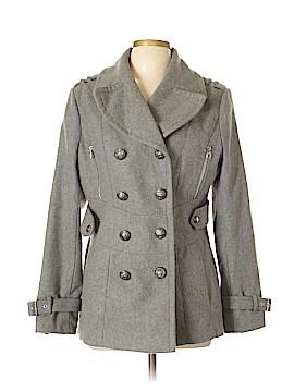 Miss Sixty Wool Coat Size L