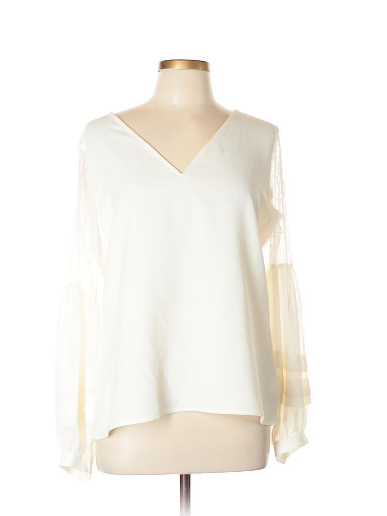 Express Women Long Sleeve Blouse Size L