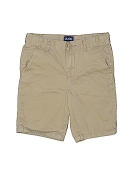 The Children's Place Khaki Shorts Size 8 (Husky)