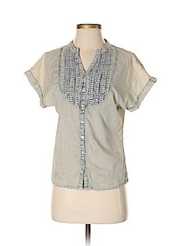 Max Studio Short Sleeve Button-Down Shirt Size S