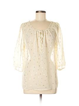 Pink Blush 3/4 Sleeve Blouse Size M