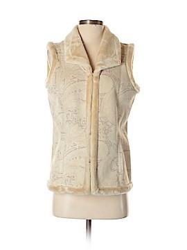 Coldwater Creek Faux Fur Vest Size XS