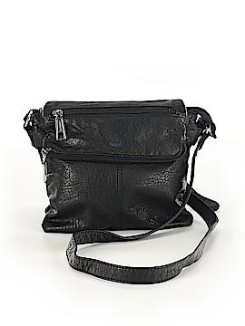 Liz Claiborne Leather Crossbody Bag One Size