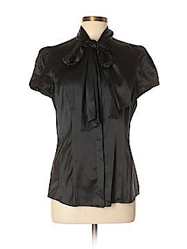 Express Design Studio Short Sleeve Button-Down Shirt Size L