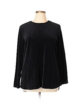 Denim & Co Long Sleeve Top Size L