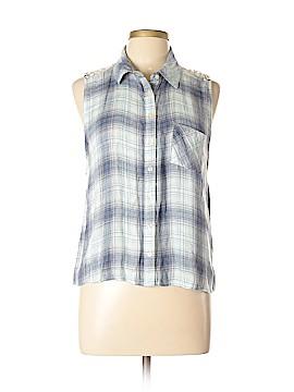 Aeropostale Sleeveless Button-Down Shirt Size XL