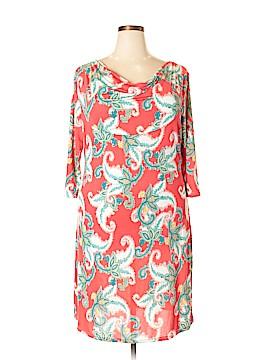 Ice Silk Casual Dress Size 2X (Plus)