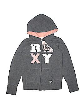 Roxy Zip Up Hoodie Size X-Large (Kids)