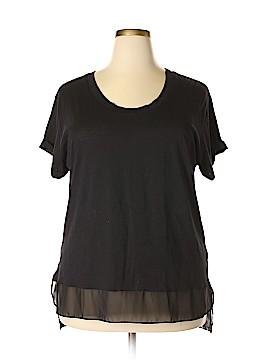 DKNY Short Sleeve Top Size 3X (Plus)