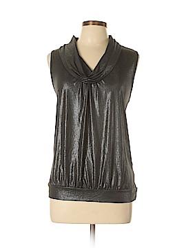 August Silk Sleeveless Top Size XL