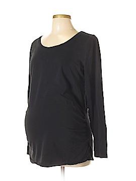 Bump Start by Motherhood Maternity Long Sleeve T-Shirt Size XL (Maternity)