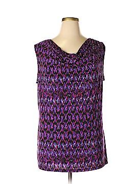 Fashion Bug Sleeveless Top Size 1X (Plus)