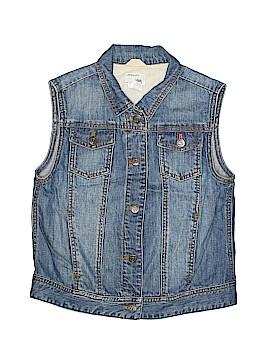 Crewcuts Denim Vest Size 14
