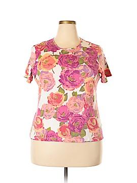 Croft & Barrow Short Sleeve T-Shirt Size 1X (Plus)