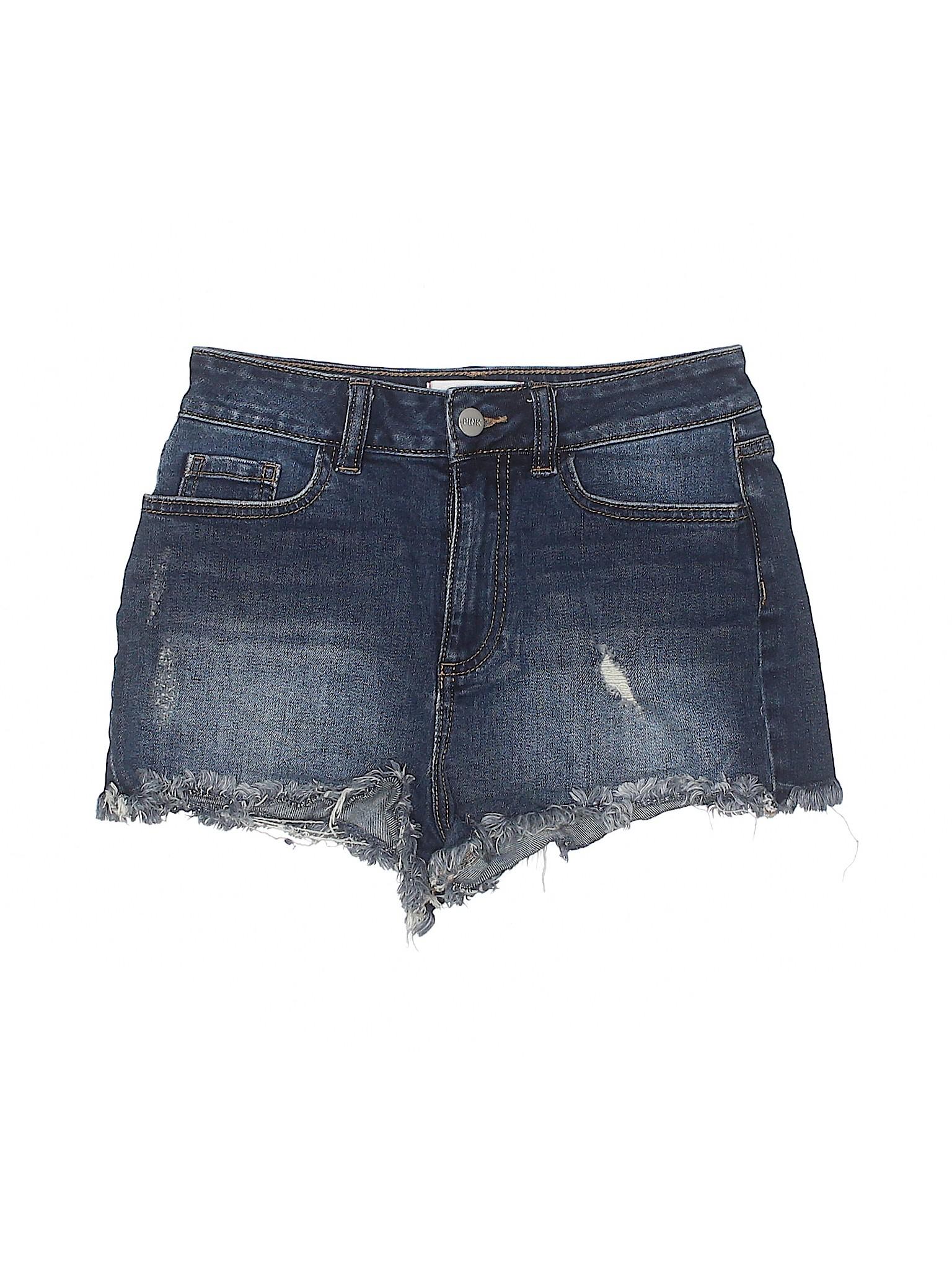 winter Leisure Victoria's Pink Secret Shorts Denim 1q7wFqf
