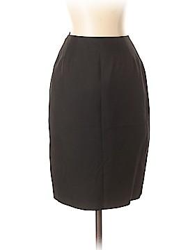 Linda Allard Ellen Tracy Silk Skirt Size 0 (Petite)