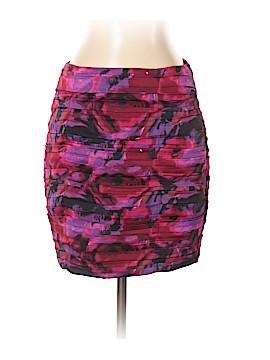 Waverly Grey Silk Skirt Size 2