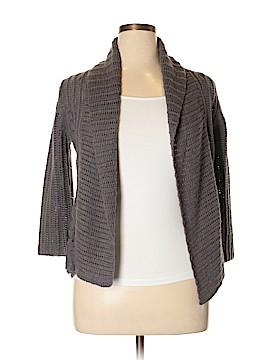 Wrap Wool Cardigan Size 14