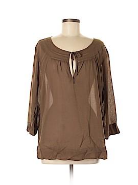 Eddie Bauer 3/4 Sleeve Blouse Size XL