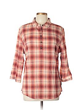 Royal Robbins 3/4 Sleeve Button-Down Shirt Size L