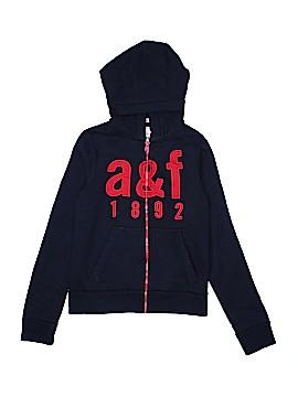 Abercrombie Zip Up Hoodie Size L (Kids)