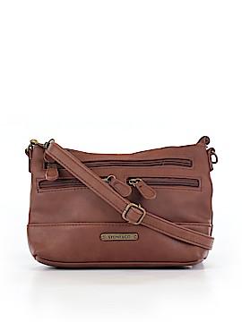 Stone Co Leather Crossbody Bag One Size