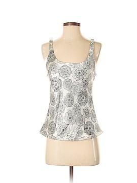 Josie Natori Sleeveless Silk Top Size S