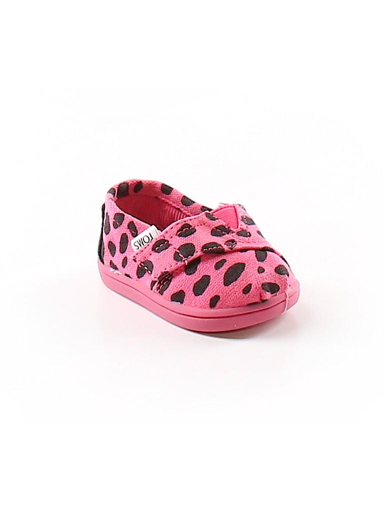 7ca3b04b376 TOMS Polka Dots Pink Flats Size 2 - 55% off