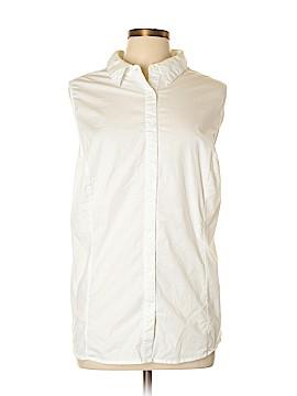 Jessica London Sleeveless Button-Down Shirt Size 24 (Plus)