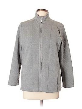 Croft & Barrow Track Jacket Size L (Petite)